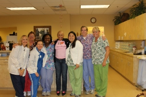 ALL THE PRETTY LADIES OF NW GA ONCOLOGY: NURSES AND PHARMACISTS