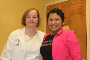 Dr. Hahm and her chemo graduate