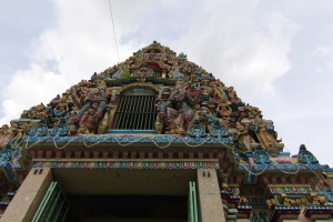 hindu temple in yangon- located in the little part of yangon which is called little INDIA .